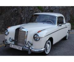 MERCEDES BENZ 220S PONTON COUPE
